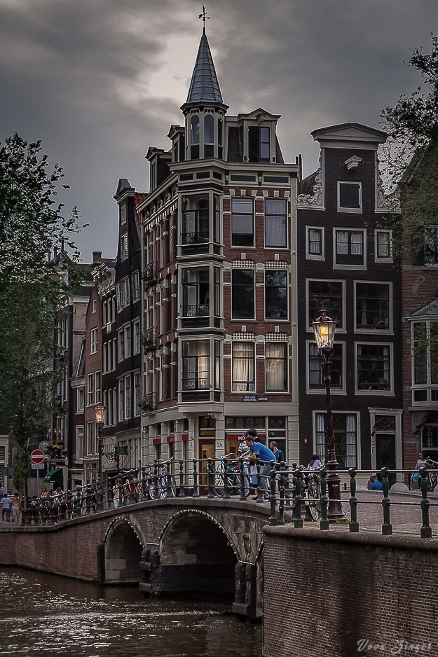 Early dusk, Amsterdam
