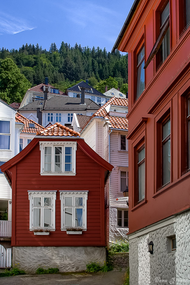 Very small home, Bergen, Norway